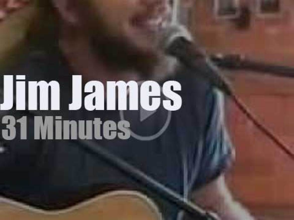 Jim James goes solo and acoustic in Indiana  (2001)