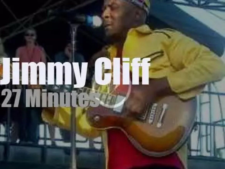 Jimmy Cliff  attends a Virginian festival (2013)