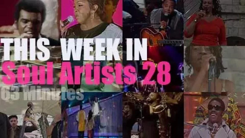 This week In Soul Artists 28