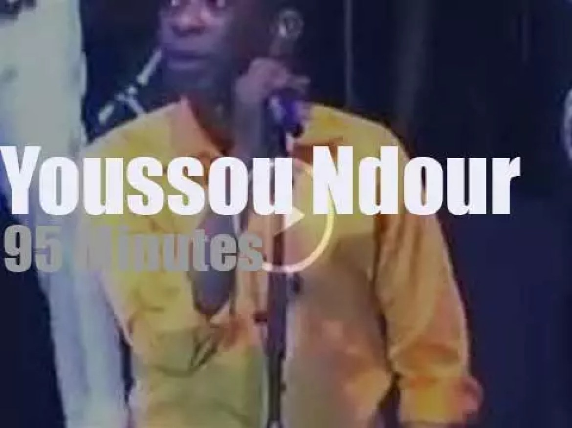 Youssou Ndour performs in Senegal (2015)