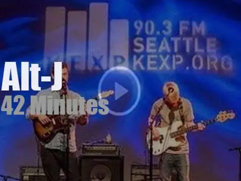 Alt-J perform for KEXP (2012)