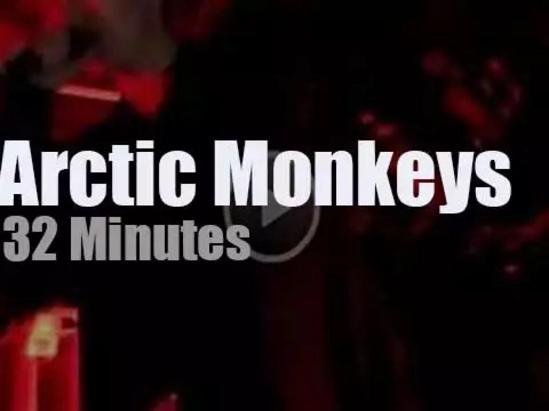 Arctic Monkeys come to Boston (2013)