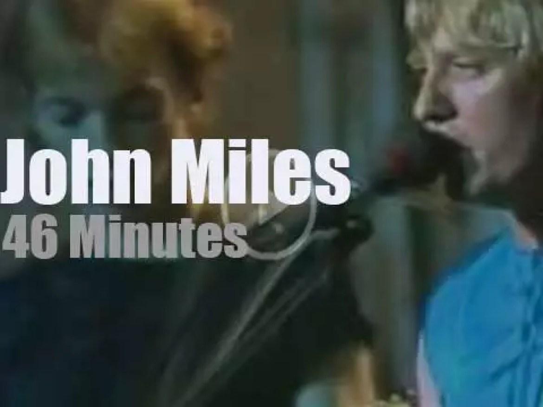 John Miles comes to Munich (1981)