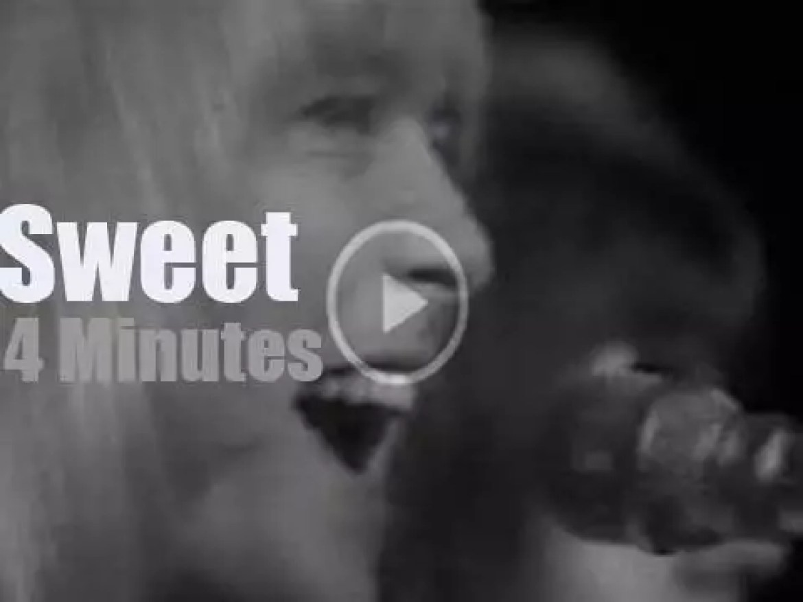 On English TV today, Sweet at 'Top Of The Pops' (1973)