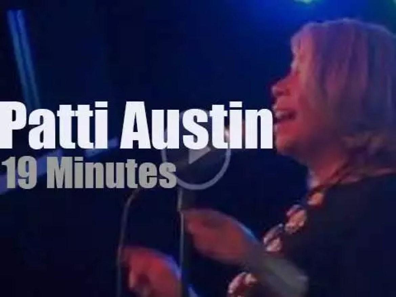 Patti Austin sings in Amsterdam (2013)