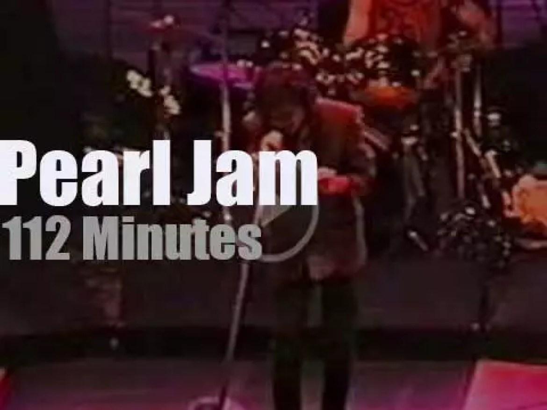 Pearl Jam rock DC (1998)