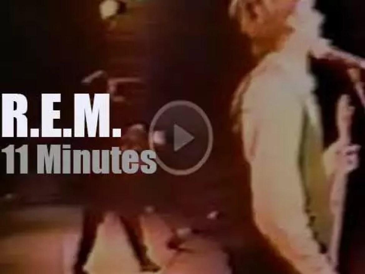 R.E.M. play at the Grand Ole Opry (1986)