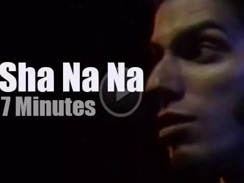 Sha Na Na rock Fillmore East (1970)