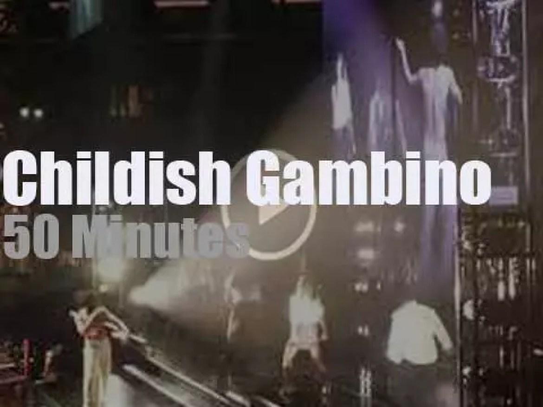 The Garden  jumps for Childish Gambino (2018)