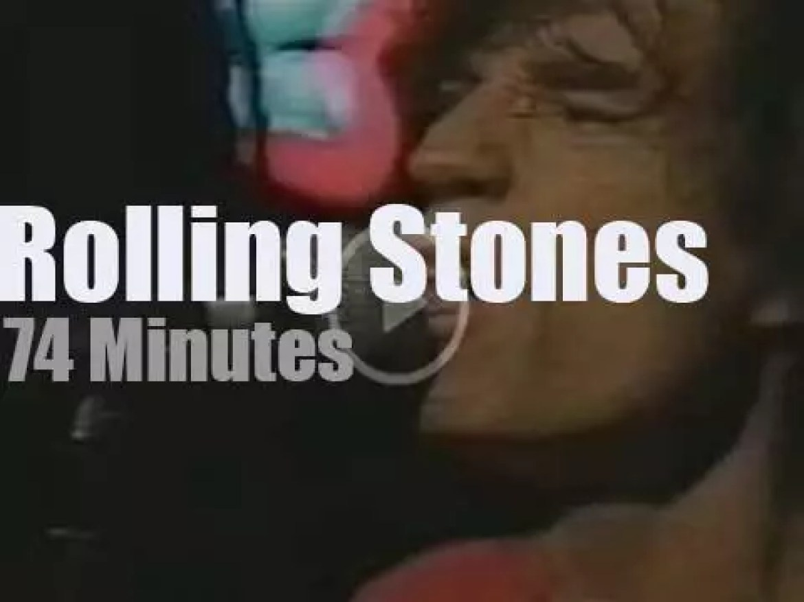 The Rolling Stones warm up in Chicago (1997)