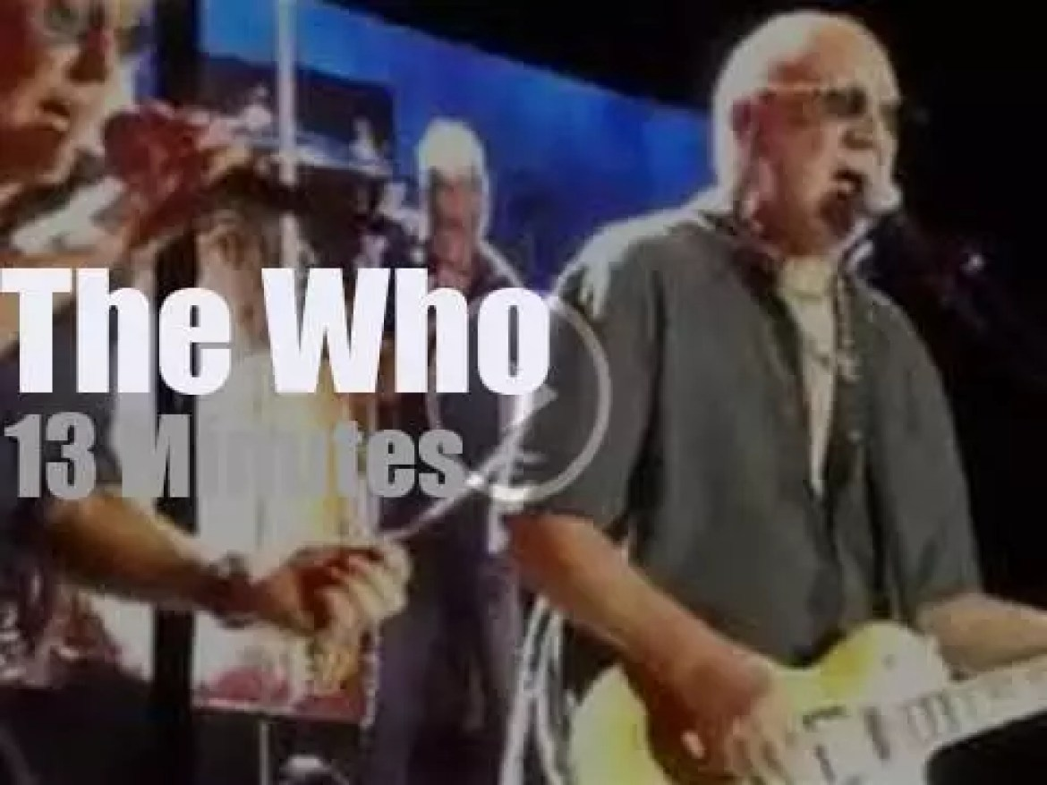 The Who perform in Germany (2016)