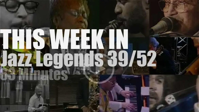 This week In Jazz Legends 39/52