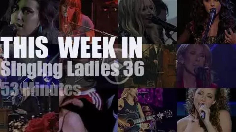 This week In Singing Ladies 36