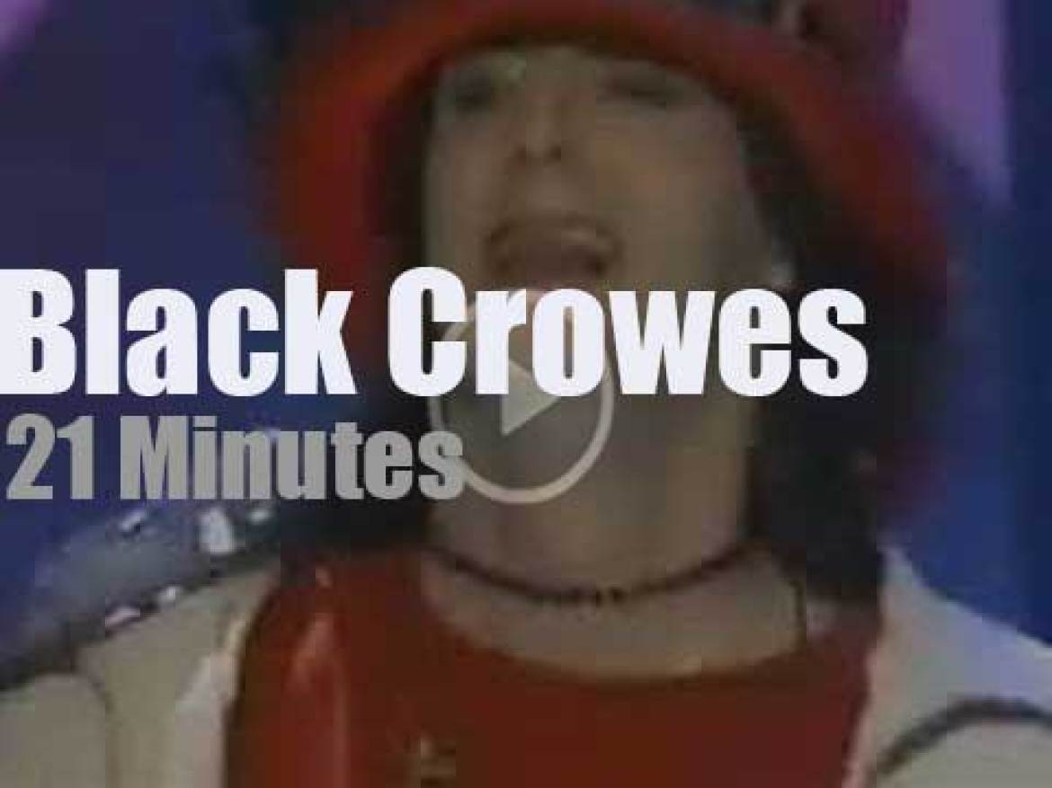 VH1 tapes The Black Crowes  (1998)