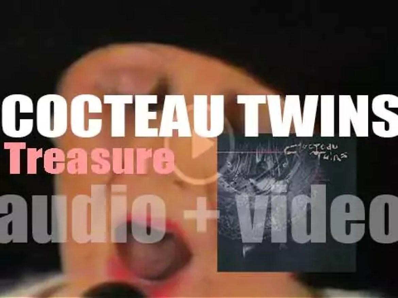 "4AD publish Cocteau Twins' third album : ""Treasure"" (1984)"