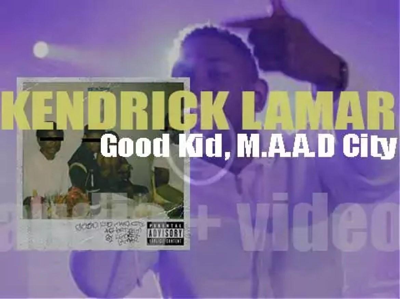 Kendrick Lamar releases his second album : 'Good Kid, M.A.A.D City'  featuring 'Swimming Pools (Drank)' (2013)
