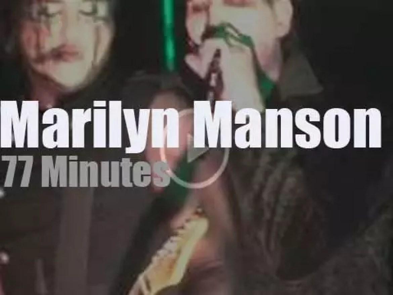 Marilyn Manson brings 'Hell' to Santa Ana (2015)