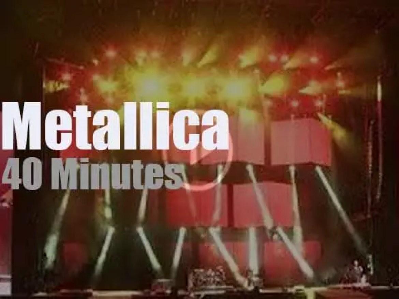 Metallica serenade Austin (2018)