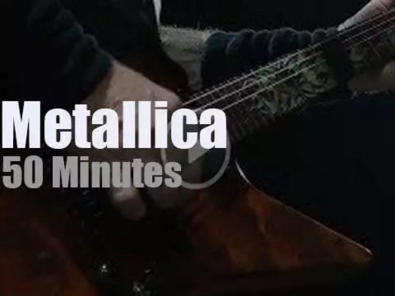 Metallica serenade Milwaukee (2018)