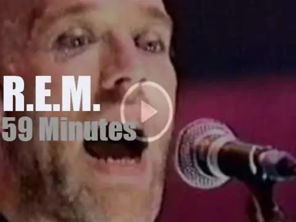 On English TV today, R.E.M. at 'Later… with Jools Holland' (1998)