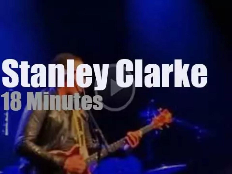 Stanley Clarke swings in Zürich (2015)