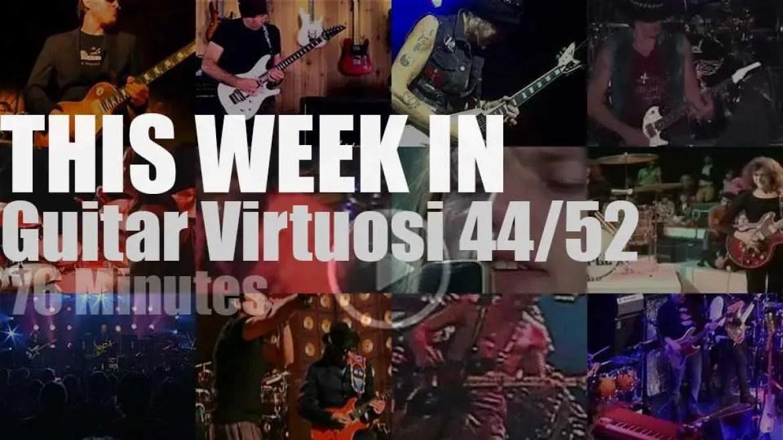 This week In Guitar Virtuosi 44/52