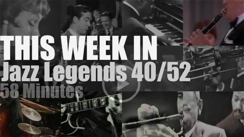 This week In Jazz Legends 40/52