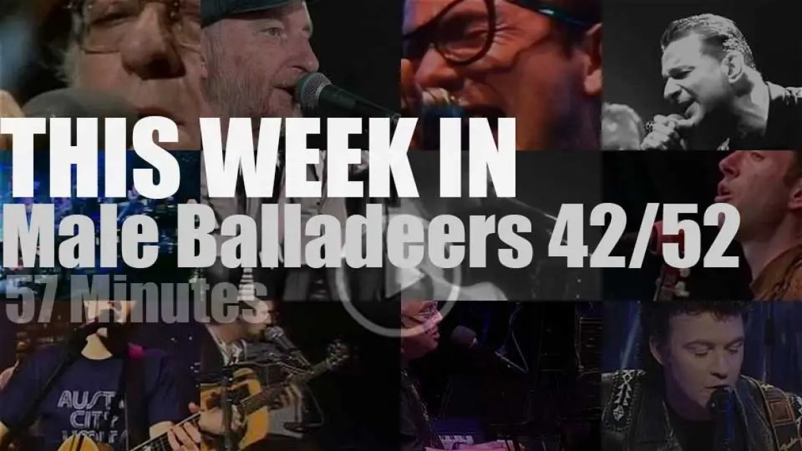 This week In Male Balladeers 42/52