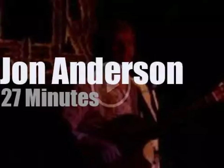 Jon Anderson goes clubbing in Santa Barbara (2009)