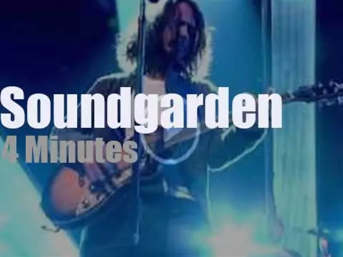 On English TV today, Soundgarden at 'Later… with Jools Holland' (2012)