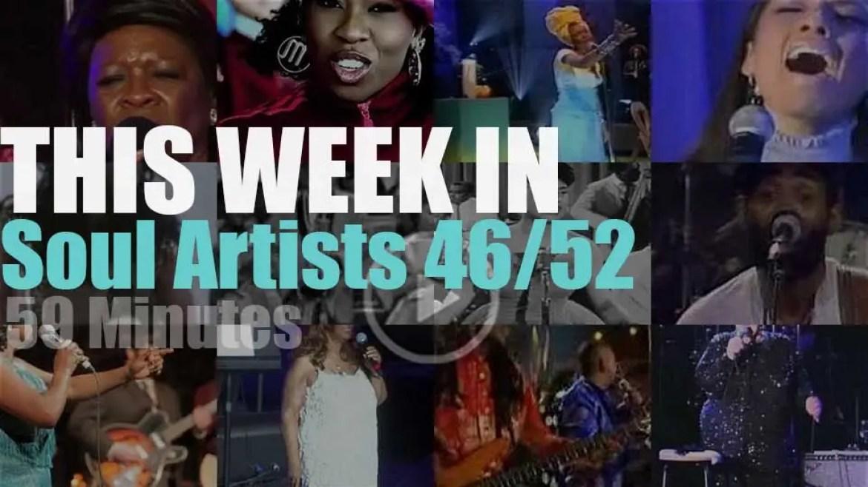 This week In Soul Artists 46/52