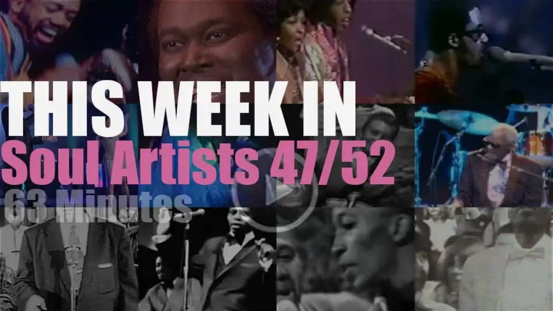 This week In Soul Artists 47/52