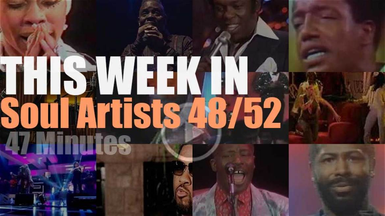 This week In Soul Artists 48/52