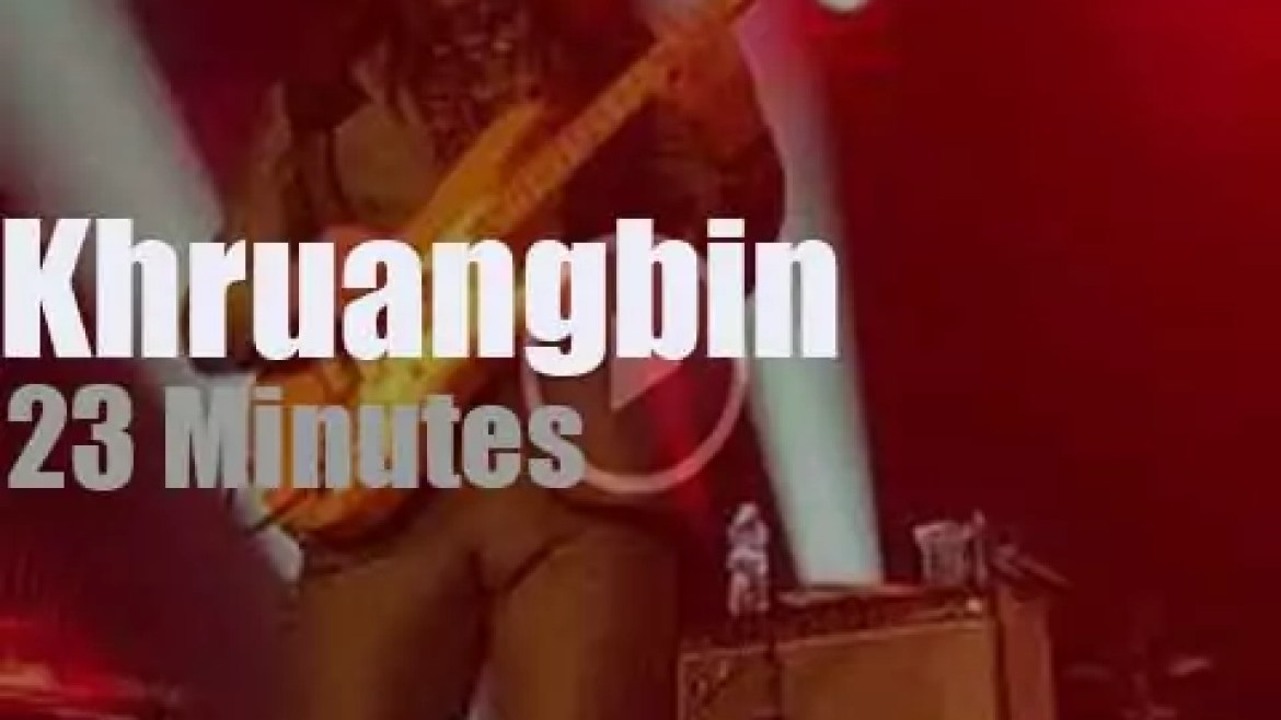Khruangbin play in North Carolina (2018)