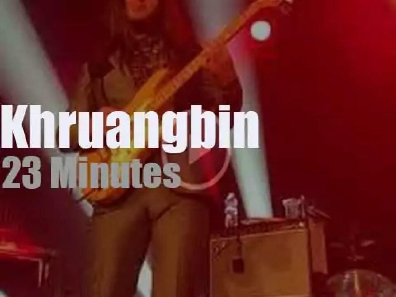 Khruangbin play in North Carolina (2018)