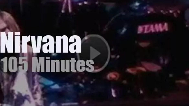 Nirvana brings 'In Utero' to Oakland (1993)