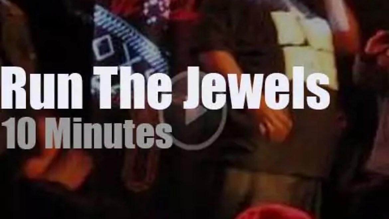 Run The Jewels rock Brooklyn (2013)