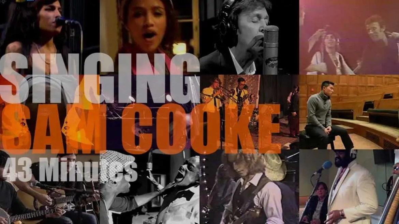 Singing  Sam Cooke