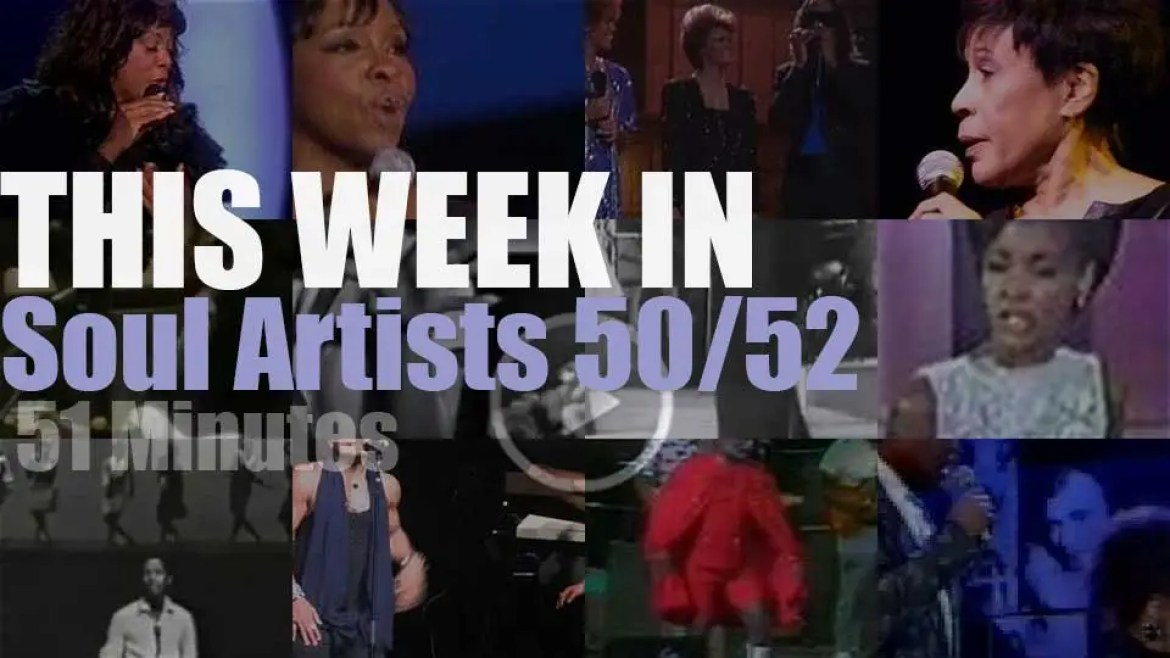 This week In Soul Artists 50/52