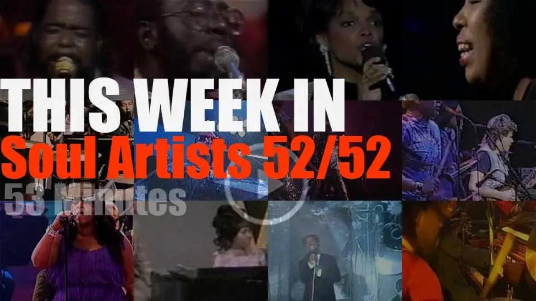 This week In Soul Artists 52/52