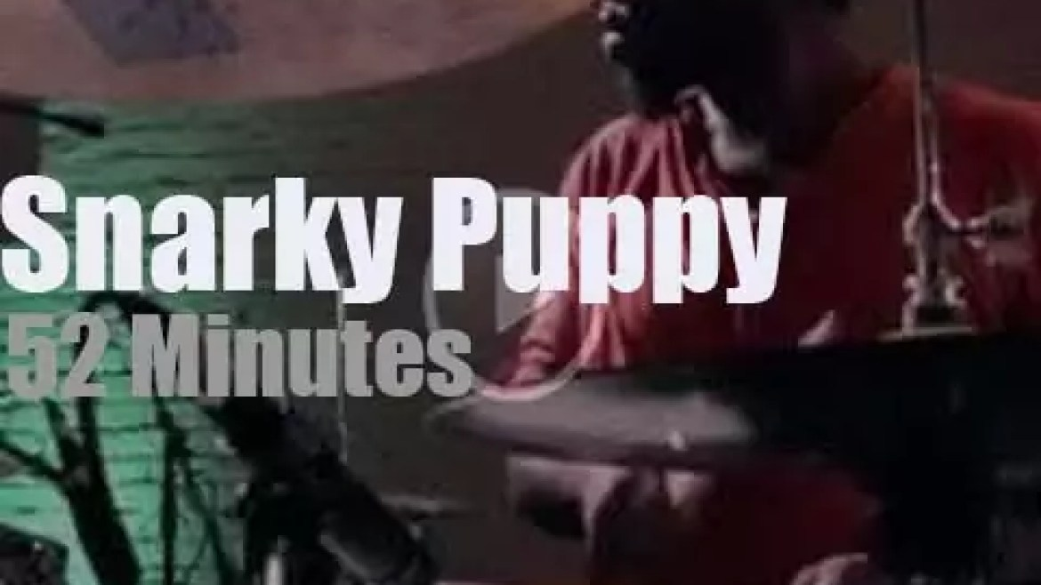 Snarky Puppy tape a DVD in Brooklyn (2011)
