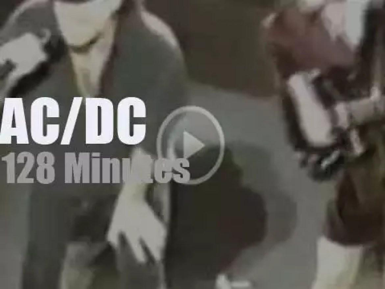 AC/DC visit San Jose (1996)