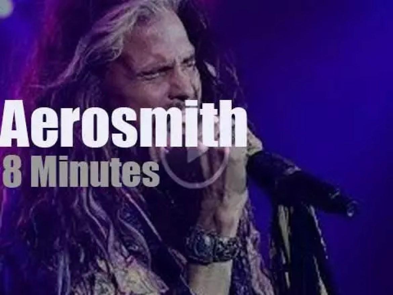 Aerosmith rock and Sharon Stone walks in (2019)