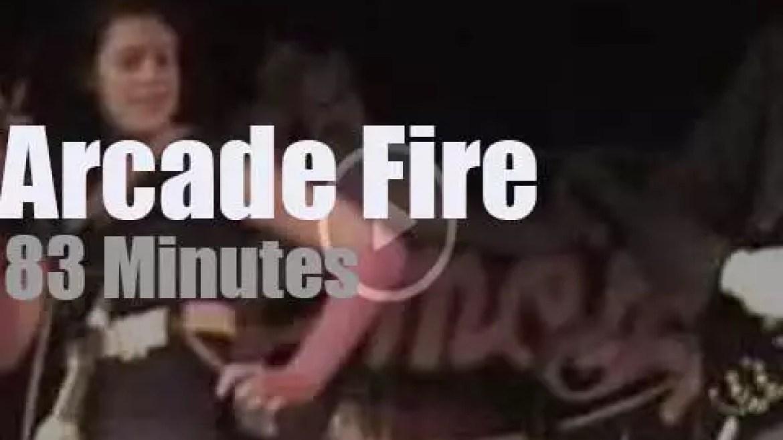 Arcade Fire come to Austin (2005)