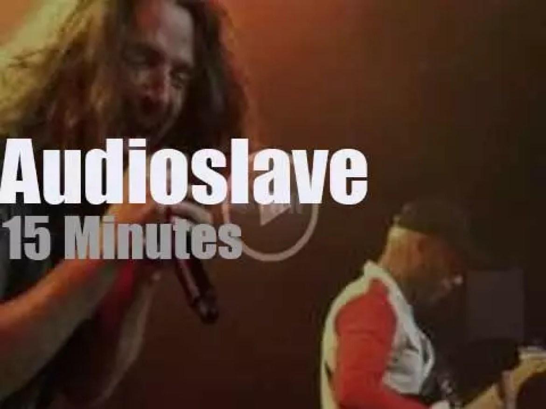 Audioslave reunite after twelve years (2017)