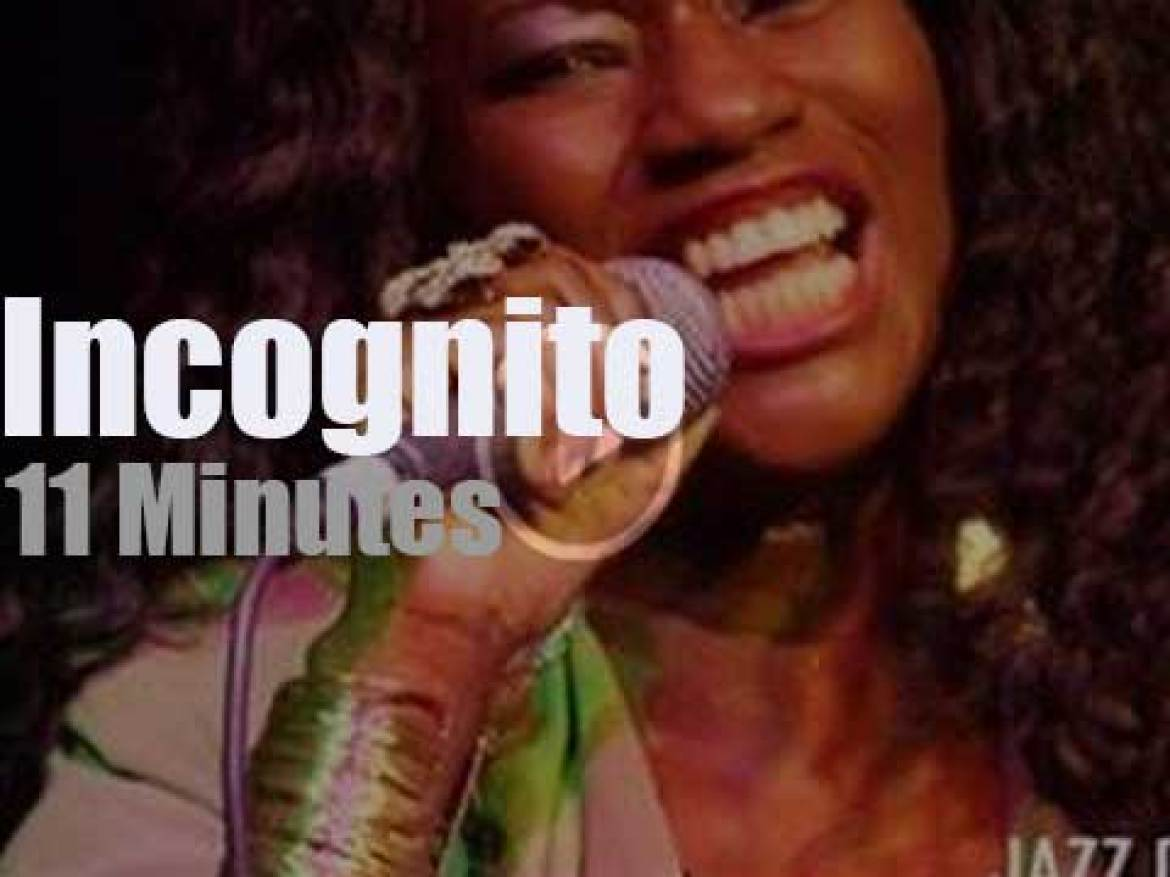 Incognito come back to London Jazz Cafe (2014)