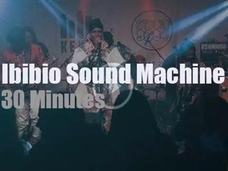 KEXP tape Ibibio Sound Machine in London (2019)