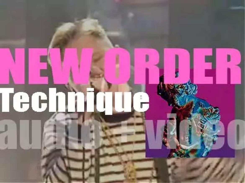 Factory Records publish New Order's fifth album : 'Technique' (1989)