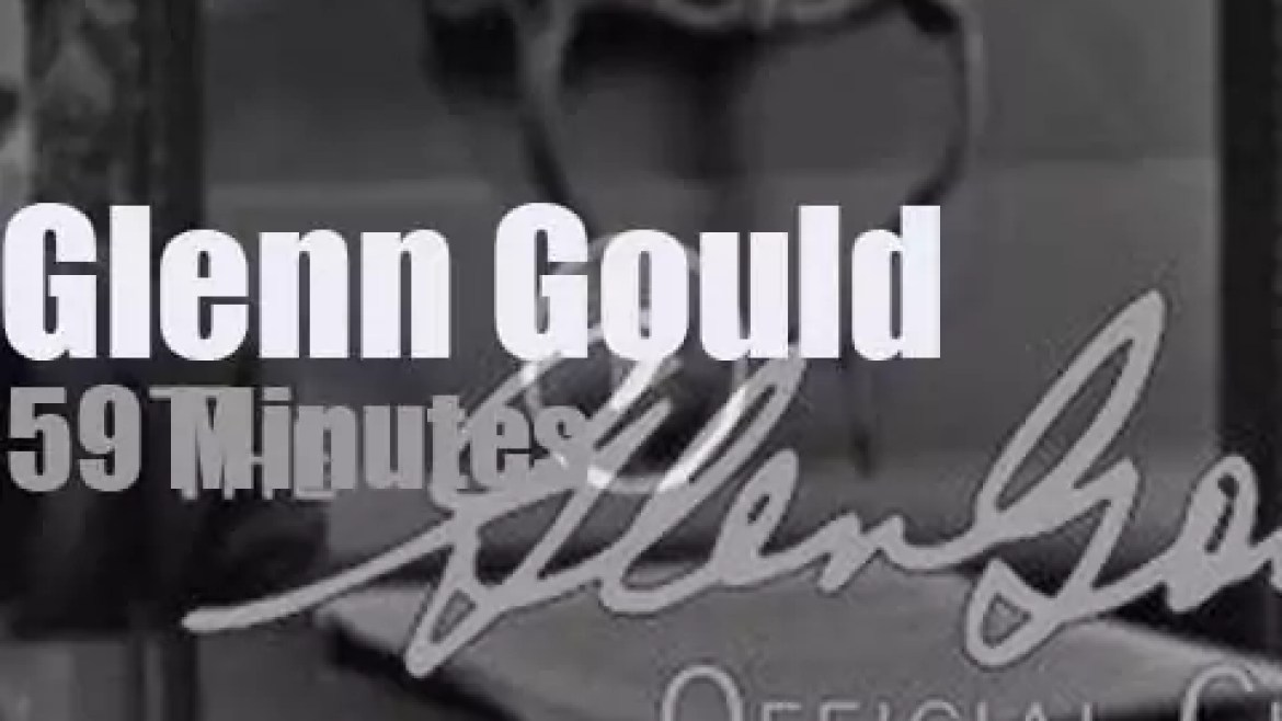 On Canadian TV today, Glenn Gould at 'Sunday Concert: Music In The USSR' (1962)