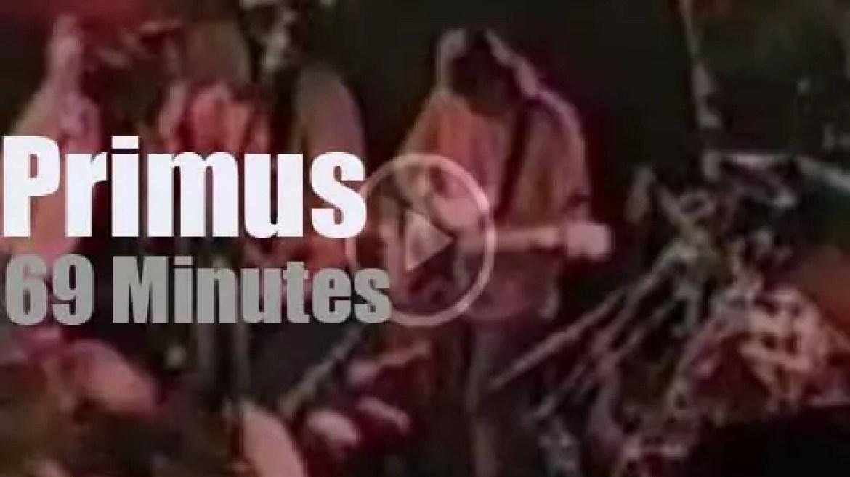Primus come to Sacramento (1990)